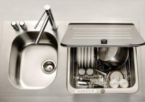 lavastoviglie e lavandino