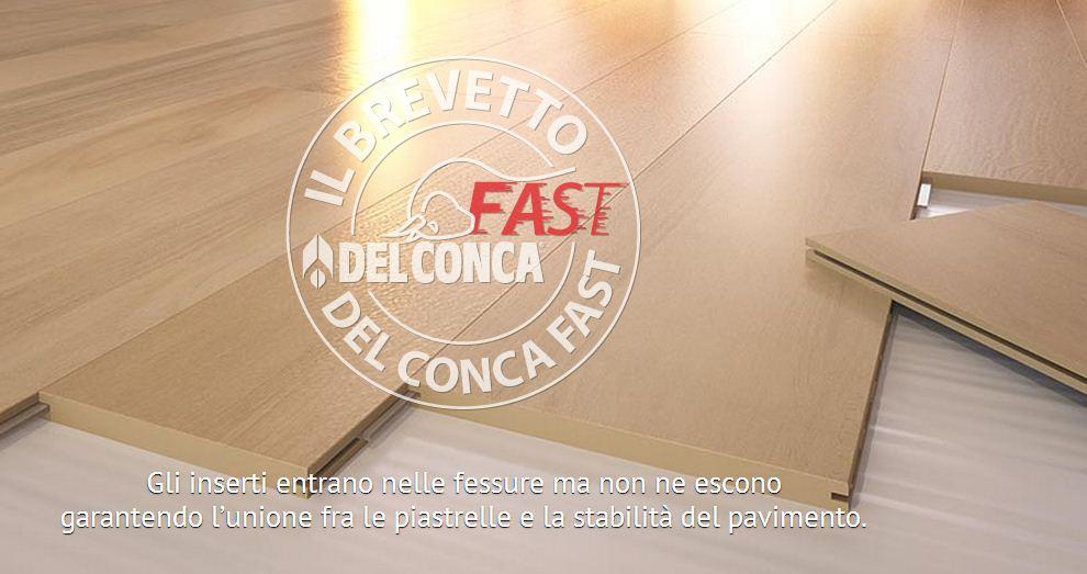 Il gress porcellanato posato a secco Conca Fast - Free Interior Design